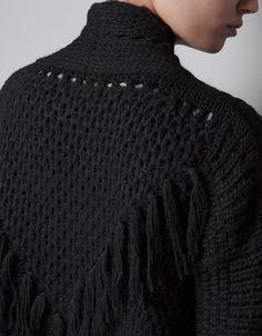 EMBELLISHED KNITTED CARDIGAN - Knitwear - TRF - ZARA United Kingdom