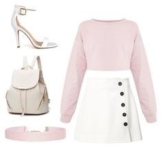 """LA VIE EN ROSE"" by thefrights ❤ liked on Polyvore featuring Misha Nonoo, Humble Chic, Summer, casual, Pink and women"