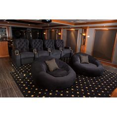 Home Theater Room Design, Movie Theater Rooms, Home Cinema Room, Home Theater Decor, Game Room Design, Home Theater Seating, Basement Movie Room, Media Room Design, Cinema Room Small
