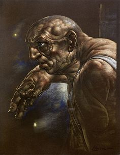 'Pendere III' by Peter Howson, pastel on tinted card, Peter Howson, Neo Expressionism, Photography Collage, Back Pieces, Art Fair, Contemporary Paintings, Lion Sculpture, Sketches, Statue
