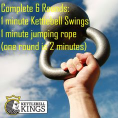 #kettlebell workout of the day