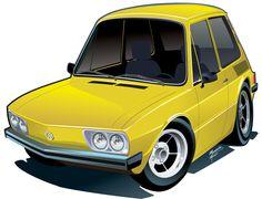 Que tal fazer uma caricatura de seu amado carro? Faça um orçamento sem compromisso pelo e-mail mau917@gmail.com. #CaricaturadeCarro, #DesenhodeCarro, #AutoArte, #Fusca, #VW, #AirCooled, #Volks, #Chevy, #V8, #HotRod, #Custon, #VWBRASILIA