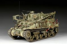 The M32B1 is used by the US Army during the WWII, One of the most interesting Vehicles for me, I tried to paint everything in harmony and well detailed