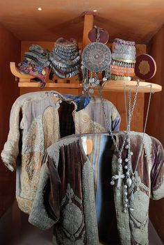 Roman Theater - Museum of Popular Traditions - Cenral Palestinian Costume Pieces - Amman, Jordan