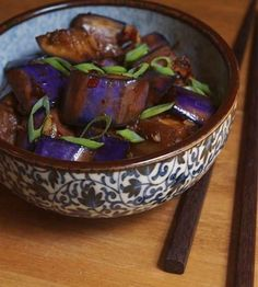 Glide a vulnerable piece of chili eggplant onto the cradle of your tongue. | 19 Savory And Authentic Chinese Foods That Need Your Mouth