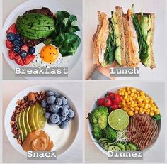 Healthy Meal Prep, Healthy Snacks, Healthy Recipes, Eating Healthy, Keto Meal, Healthy Dinners, Breakfast Healthy, Simple Healthy Meals, Healthy Living
