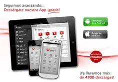 ¿Aún no te has descargado nuestra aplicación gratis para tu Android: https://play.google.com/store/apps/details?id=com.pcimagine.android o para tu iOS7: https://itunes.apple.com/es/app/pc-imagine/id543186646?mt=8 ? ¡Ya llevamos más de 4700 descargas! #app #aplicacion #android #iOS #aplication #aplicacionesgratis