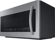 Samsung - 2.1 Cu. Ft. Grilling Over-the-Range Microwave with Sensor Cooking - Stainless Steel - Alt_View_Zoom_14