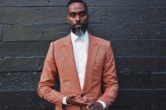 Waraire Boswell, style, suit, lapel, jacket, shirt