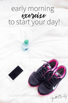 Do you incorporate early morning exercise in your routine? Find out other ways to conquer things before 9 am!