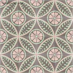 Classic Cement Tile Patterns  floor tiles