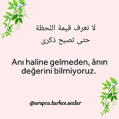 Learn Turkish, Turkish Language, Best Quotes, Learning, Instagram, Allah, Photos, Feelings, Pictures