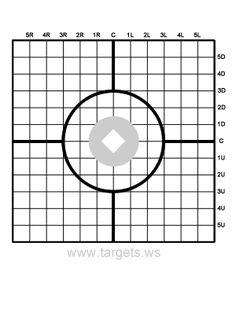 8X11 Printable Targets | Targets - Print your own shooting targets