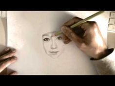 How to Draw Faces - Pencil Tutorial - YouTube