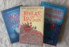 The Rivers of London series of urban fantasy books by Ben Aaronovitch.