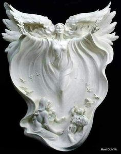 I saw the angel in the marble and carved until i set him free. Michelangelo