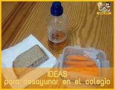 Consejos e ideas para que no te quedes sin opciones para el desayuno del colegio de los peques de la casa.
