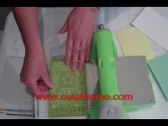 Emboss PLUS - Provo Craft's Cuttlebug Embossing Plus