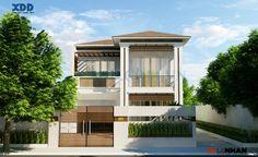 Một số mẫu biệt thự, nhà đẹp 2 tầng Nhà hai tầng là bố cục được nhiều người lựa chọn khi thiết kế nhà ở. Ưu thế của nhà hai tầng vừa gọn, dễ bố trí, không quá đồ sộ nhưng cũng đủ để phô diễn được những nét tinh tế về thẩm mỹ nếu chủ nhân khéo chọn lựa. Chúng ta thấy rằng, phương án xây nhà ở gia đình bố cục nhà ba tầng hoặc nhà bốn tầng thường được lựa chọn khi mảnh đất bị hạn chế về bề ngang nhằm đáp ứng vấn đề về nhu cầu sử dụng . ......