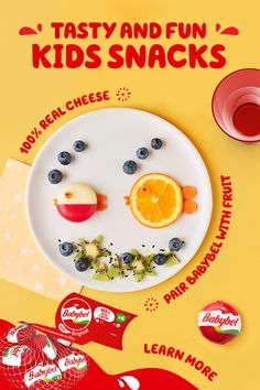 Make snack time fun with Mini Babybel 100% real cheese. Tap the Pin for more exciting snack ideas. Easy Snacks, Healthy Snacks, Tasty, Yummy Food, Cake Decorating Techniques, Love Food, Kids Meals, Food To Make, Hug Illustration