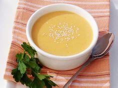 vegan sweet potato + coconut soup