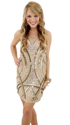 Great Gatsby Dress by The Blue Door Boutique - $66