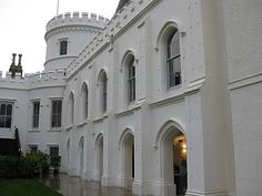 The first look at Strawberry Hill tells you that it is something special. The official website tells us that Strawberry Hill was created . Manor Homes, English Architecture, Strawberry Hill, English Castles, British Isles, Gothic, Home And Garden, Gardens, British