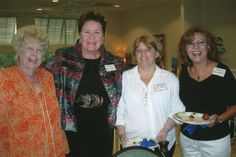A Guest with Joanne Milnor, Robin Harrell and Sara McGrail.