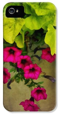 Vine And Flowers iPhone5 Case by Ann Powell #case #cases #finearamerica