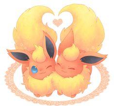 Flareon love is so hot. (No pun intended) Pokemon Fan Art, Fotos Do Pokemon, All Pokemon, Pokemon Flareon, Eevee Evolutions, Manga Pokémon, Pokemon Mignon, Photo Pokémon, Pokemon Original
