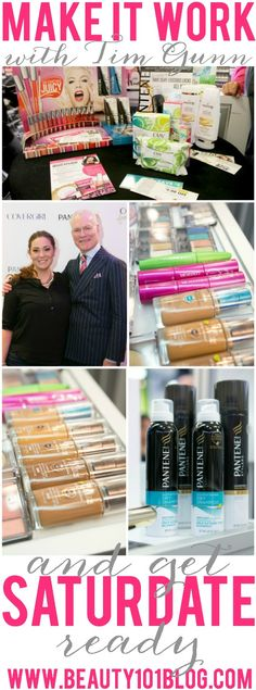 Get #Saturdate ready on a budget with Tim Gunn's favorite P&G products! #beauty #bbloggers #makeup #skincare #hair
