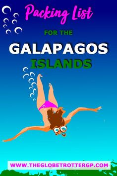 Everything you need for your Galapagos packing list including what to wear in the Galapagos and all the snorkelling and camera gear you'll want and need. Packing List For Travel, Packing Lists, Travel Plan, Travel Ideas, Travel Tips, Budget Holidays, Best Travel Accessories, Equador, Top Travel Destinations