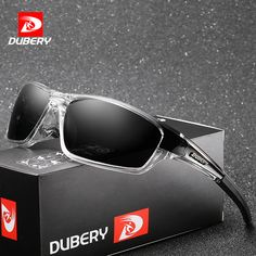07cfaa601b DUBERY Polarized Night Vision Aviator Sunglasses Men s Retro Male Sun  Glasses For Men Cool Brand Luxury Mirror Shades Oculos