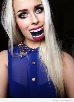 easy halloween makeup ideas - Google Search