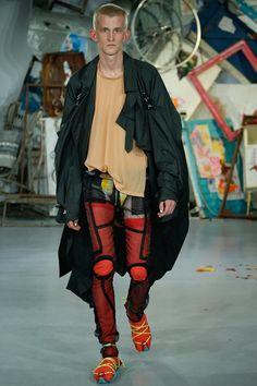 meadham Kirchhoff (see-through trousers)