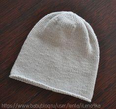 Удлиненная шапочка для себя от пользователя «iLeno4ka» на Babyblog.ru