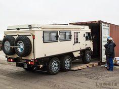 Bild, all-terrain explorers Iveco 4x4, Iveco Daily 4x4, 6x6 Truck, Truck Camper, Pickup Camper, Kombi Motorhome, Campervan, Vw Vanagon, Land Rover Defender