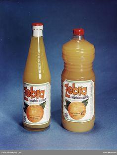 saftflasker, Zebra appelsinsquash
