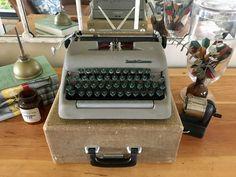 This item is unavailable Working Typewriter, Typewriter For Sale, Antique Typewriter, Portable Typewriter, Vintage Typewriters, Red Ribbon, Cool Things To Make, Shop Smith, Platform