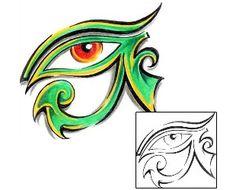 Eyes Tattoos AXF-00260 Created by Diaconu Alexandru