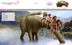 ¿Quién dijo que la prehistoria no era divertida? ¡Nuestros webdesigners nos demuestran lo contrario en Aquatum camp!  #venteprivee #vpsummercamp #webdesign