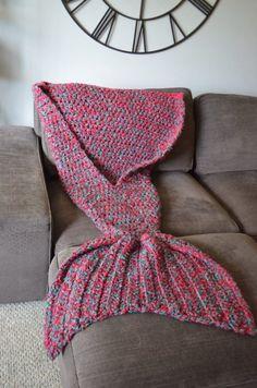 Mermaid Tail Blanke Crochet
