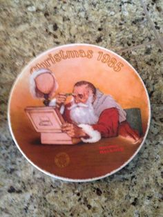 Norman Rockwell Collector's Christmas Plate 1985  by JewelzVintage