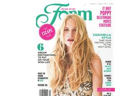 Rip Curl featured in April 2013 issue of Foam Magazine