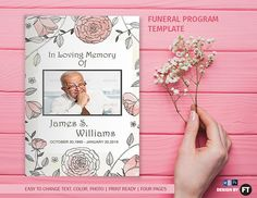 Celestial Dove Classic Template Front Panel  Funeral Template