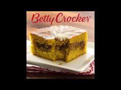 Pumpkin Honey Bun Cake recipe from Betty Crocker