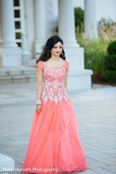 Indian Wedding Gowns with Sleeves