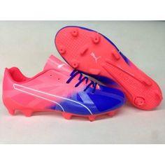 super popular 93bc9 5d835 Puma evoSPEED - Puma evoSPEED Fresh 2 Football Boots Pink Blue