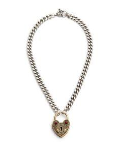 The Unlock My Heart Necklace by JewelMint.com, $29.99