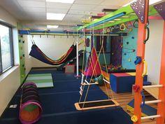 Kids Indoor Gym, Indoor Playroom, Kids Indoor Playground, Kids Gym, Indoor Jungle Gym, Daycare Design, Indoor Play Areas, Creative Kids Rooms, Sensory Rooms